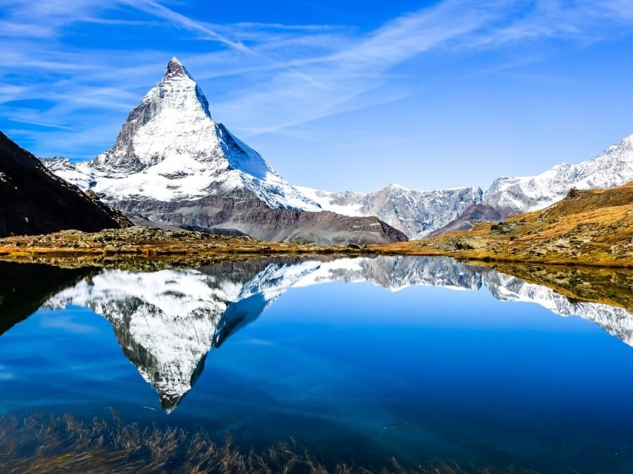 Matterhorn in the Canton of Vaalais