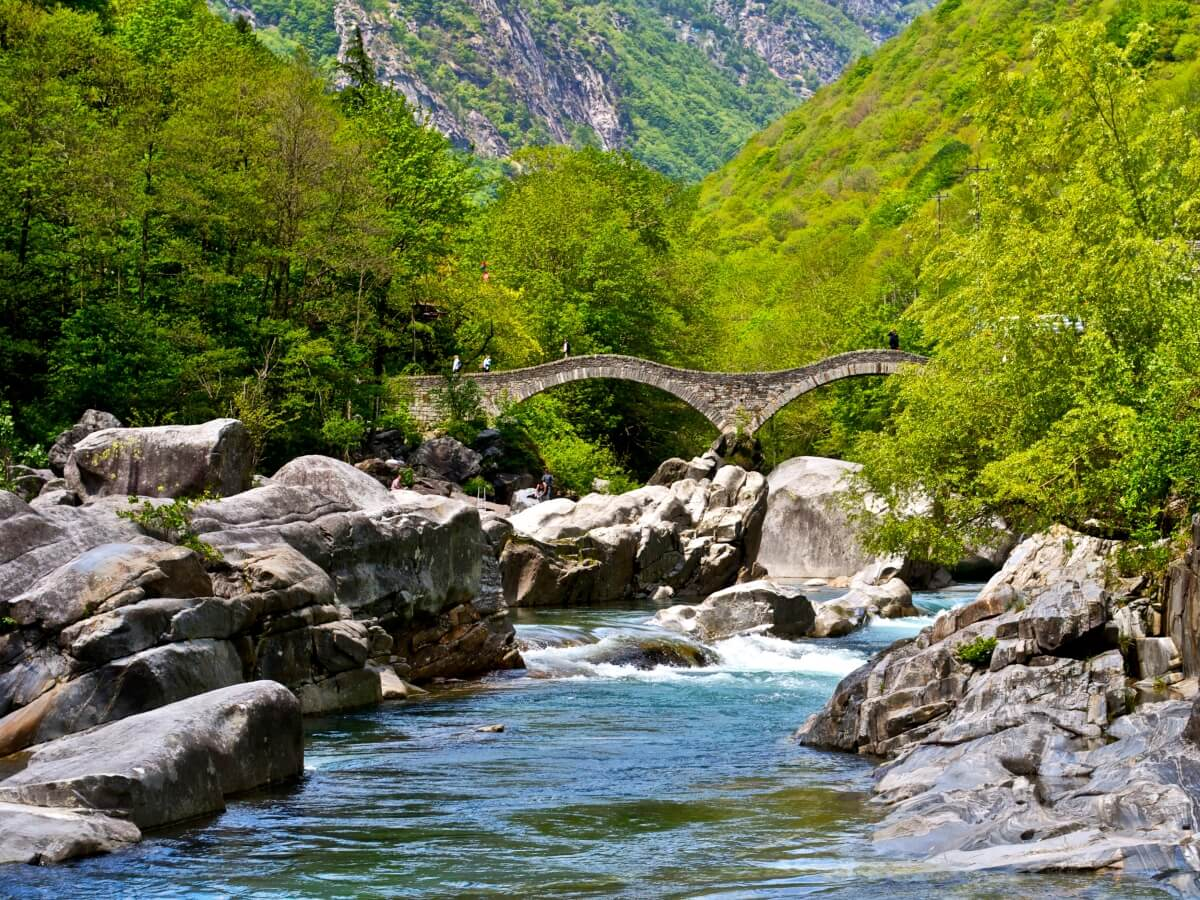Verzasca Valley in Ticino