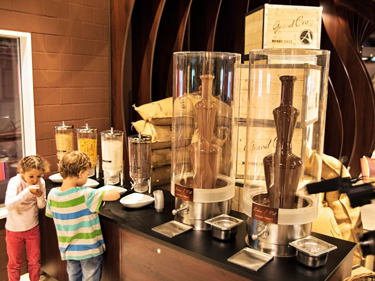 ChocoWorld near Lucerne takes you on a journey through the history of chocolate.