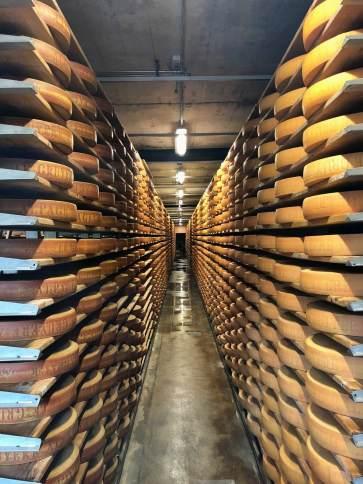 Cheese cellar Gruyère
