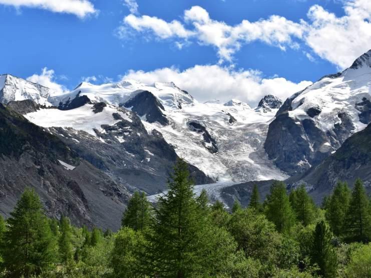Moerteratsch glacier