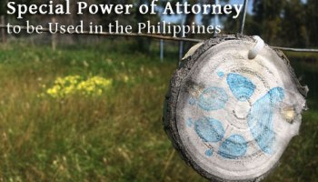 How To Get Special Power Of Attorney At Philippine Consulate General