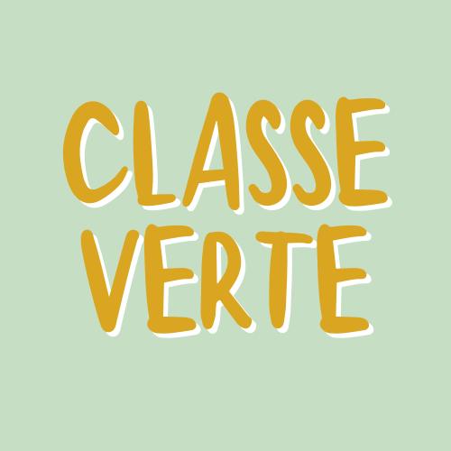 Logo Classe Verte