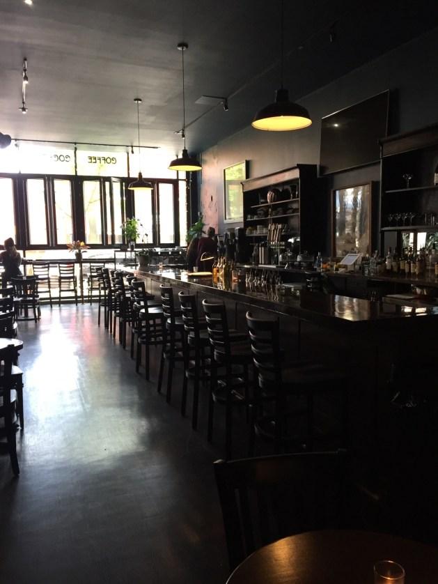 Nomads Kansas City Coffee bar interior