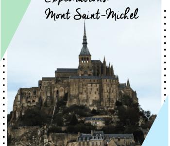 Mont saint-Michel France explorations
