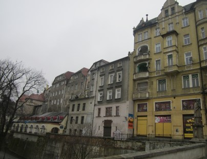 View from the Bridge - a smaller copy of The Charles Bridge in Prague