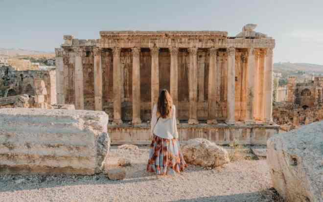 Baalbek girl Best Places in Lebanon