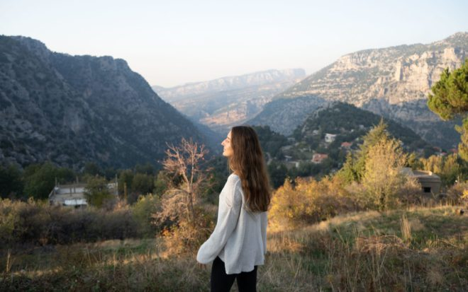 Liban góry