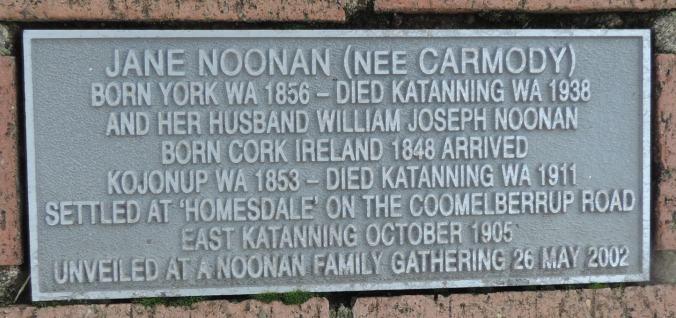 lost katanning pioneer families noonan