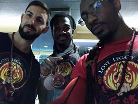 Lost Legacy Chris Cambpell Wins 2 Silver Medals for Sparring and Forms