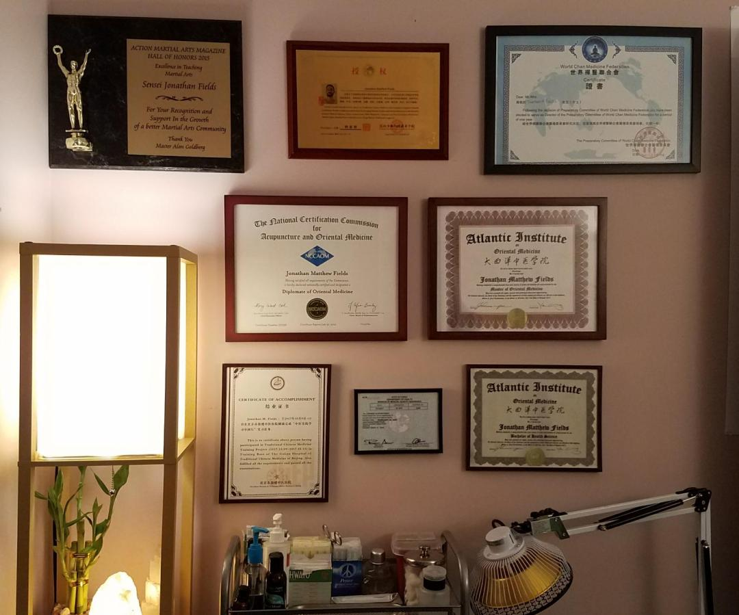 Parkland Acupuncture Dr Credentials