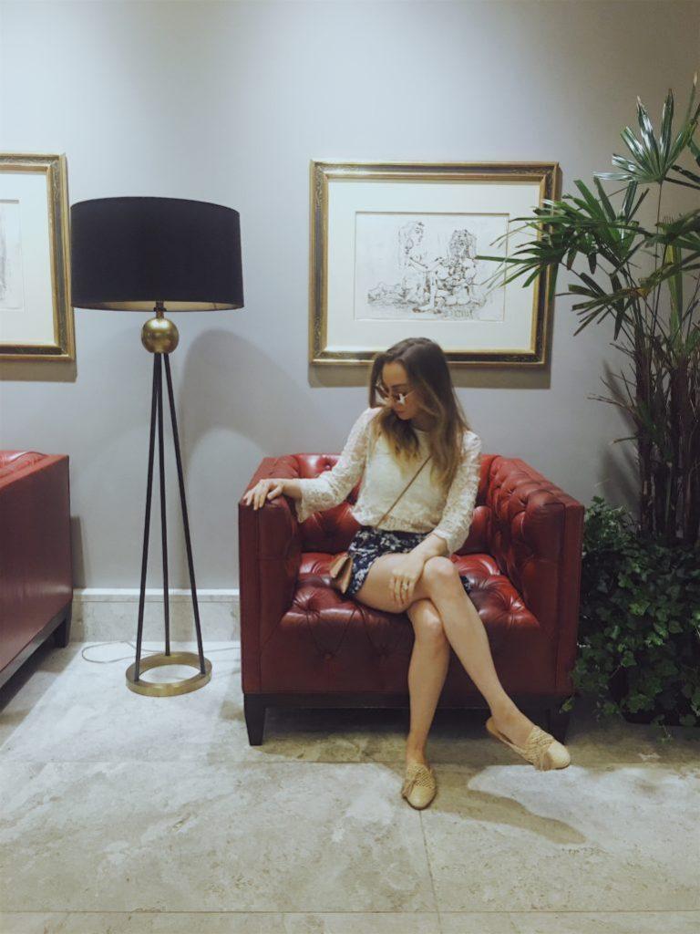 The Grove Los Angeles Caitlin Sauer Blogger