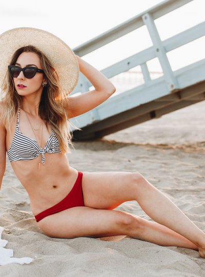 How to Style a Vintage-Inspired Swim Look