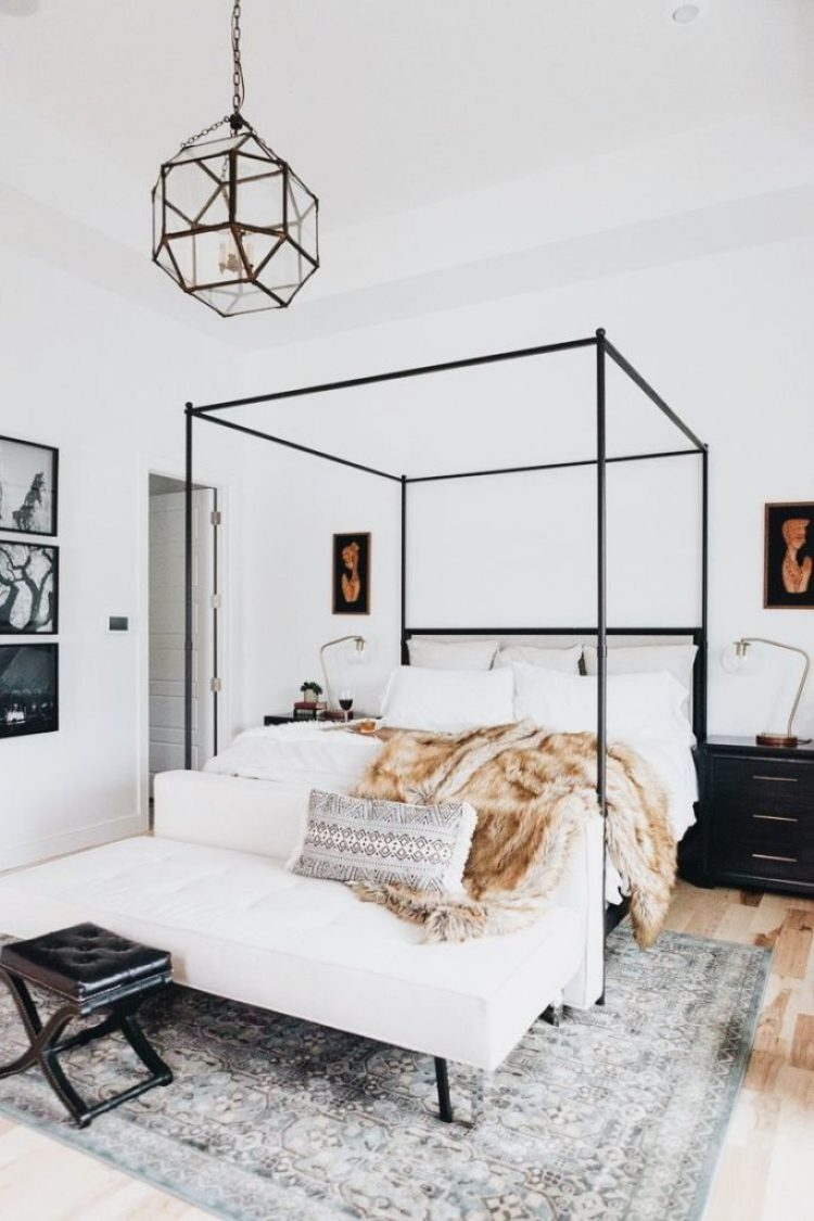 How to Pick The Right Size Rug for Your Bedroom | Lost Luxe