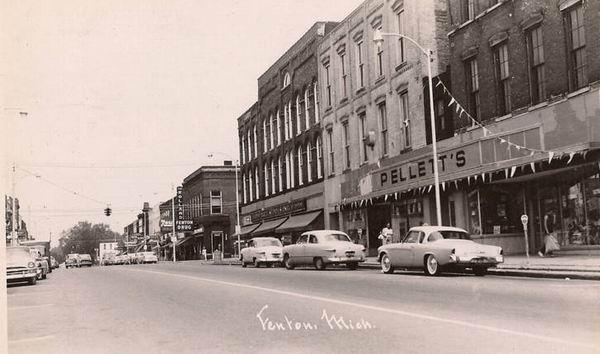 Old Pictures Fenton Mi