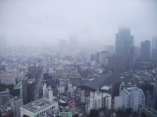 Foggy Tokyo Tower