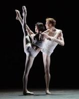 Olivia Cowley and Edward Watson rehearsing Qualia 1