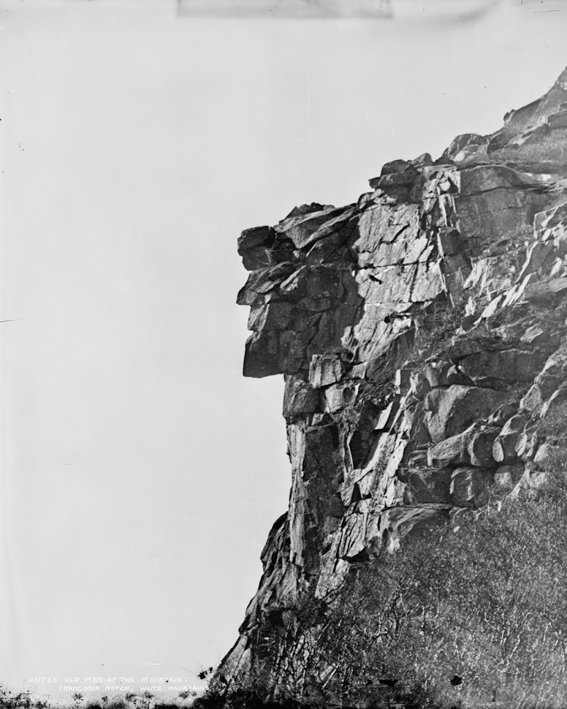 Suggest edits to improve what we show. Old Man Of The Mountain Lost New England