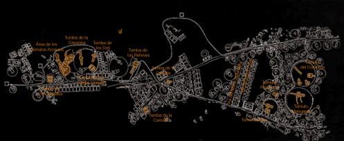 Cerveteri - Mapa