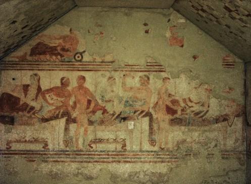 Museo Tarquinia - Tumba de la Nave