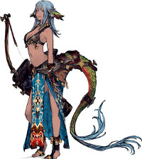 レケナウルは吟遊詩人で個性的なキャラ