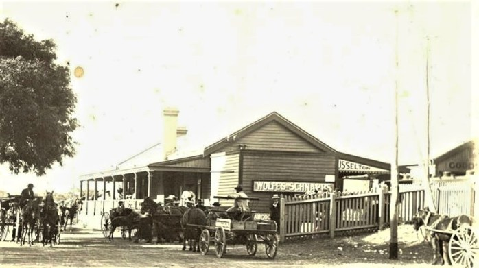 Busselton Station cart