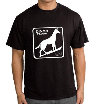 Dingo Flour Black Men's T-Shirt