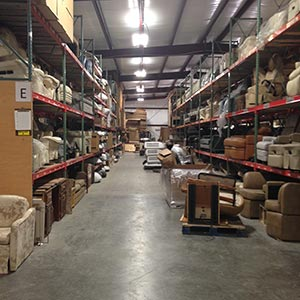 Image from inside the Visone Warehouse