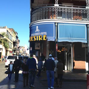 The Royal Sonesta in the French Quarter