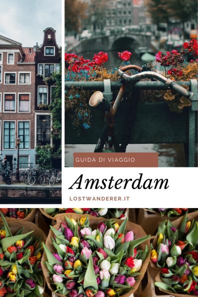Guida di viaggio di Amsterdam pinterest
