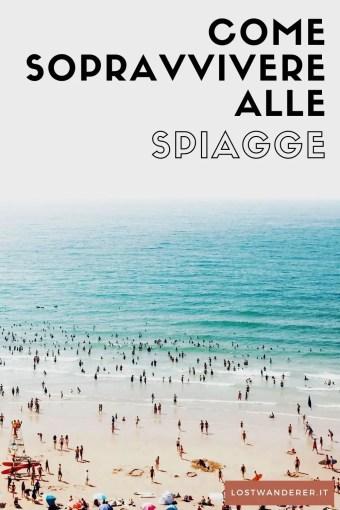 Manuale di sopravvivenza alle spiagge pin per Pinterest