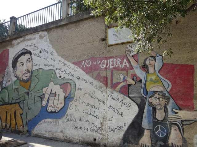 Murales di Che Guevara ad Orgosolo