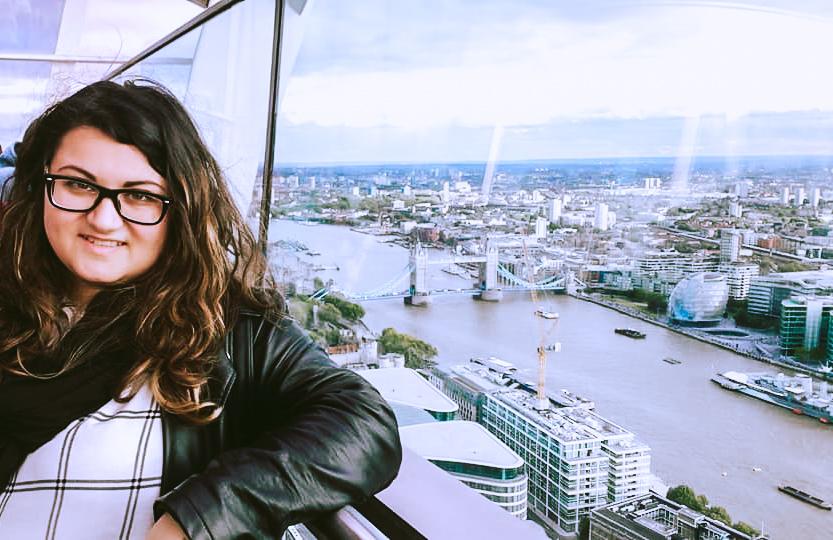Veronica di Lost Wanderer, fondatrice del blog
