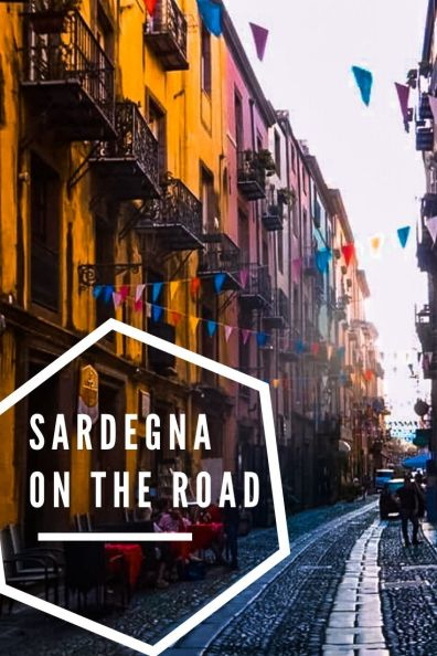 On the road in Sardegna pin per pinterest