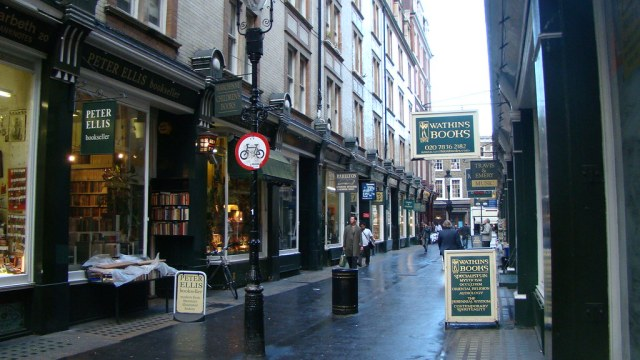 Cecil Court, la strada piena di librerie di Covent Garden