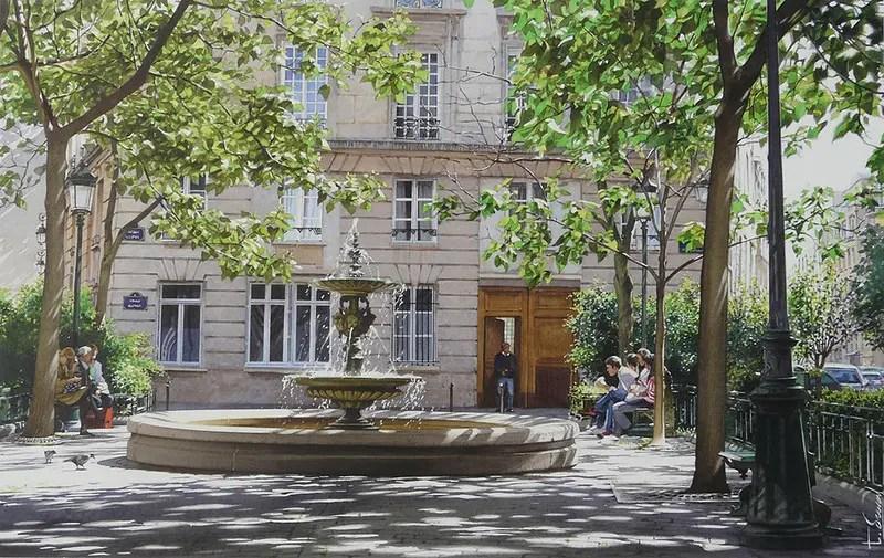 Il cuore delle locations di Emily in Paris è PLace de l'Estrapade dove si possono trovare l'appartamento di Emily, il ristorante di Gabriel, la boulangerie e la caffetteria dove Em e Mindy fanno colazione