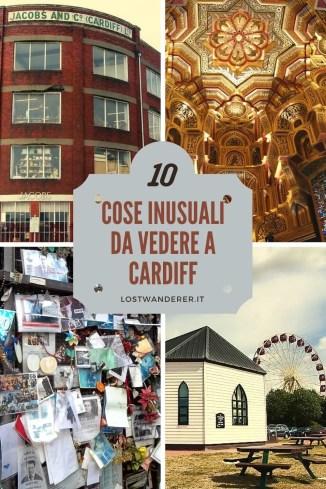 10 cose inusuali da vedere a Cardiff pin per pinterest