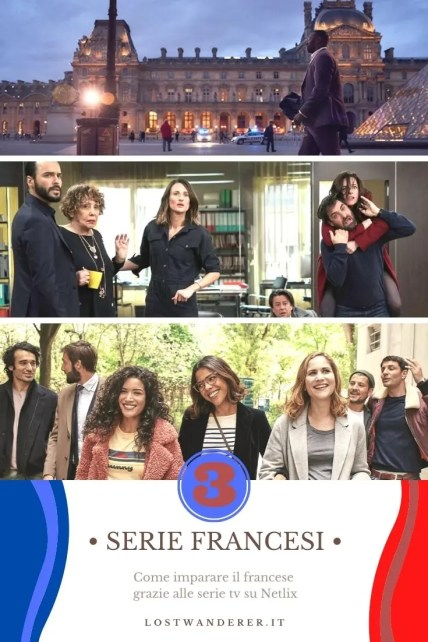 Serie Netflix per imparare il francese Pin per Pinterest