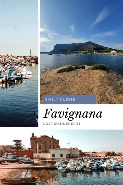 Trascorrere un weekend a Favignana pin per Pinterest
