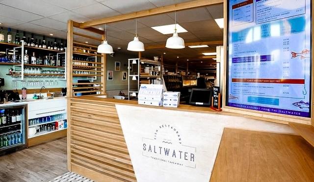 Saltwater, dove mangiare a Torquay