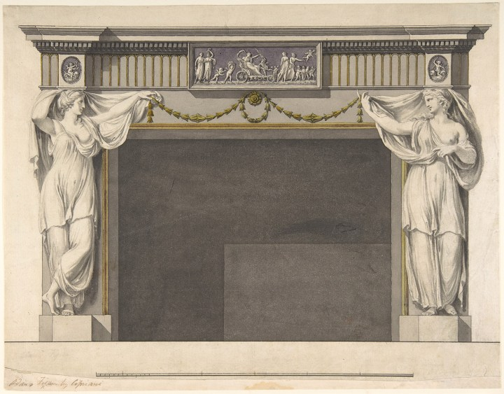 Marble Mantelpiece