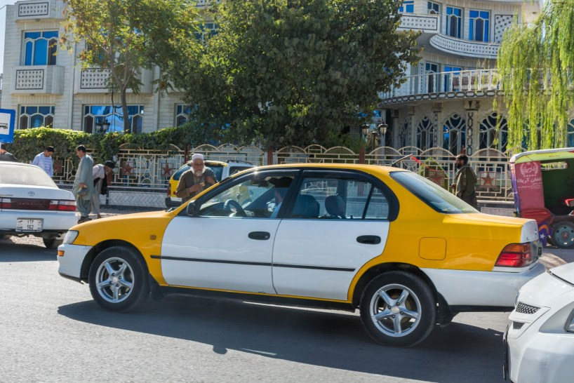 A private taxi in Afghanistan - Lost With Purpose