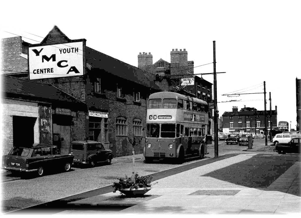 Westbury Street, Wolverhampton, 1960s. Image from Lost Wolverhampton (click for link).