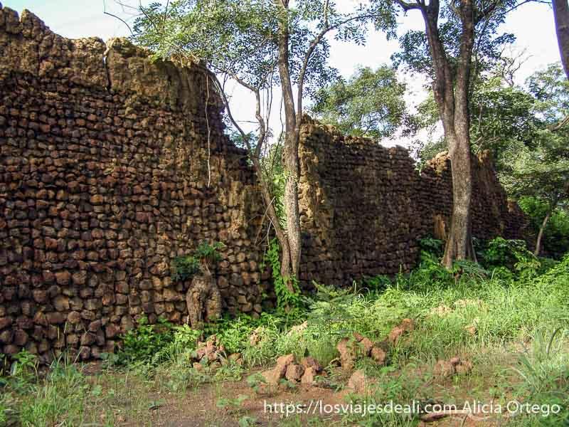 ruinas de antigua civilización en burkina faso
