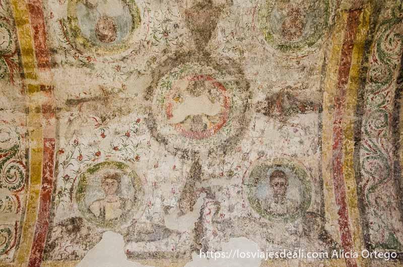 pinturas romanas qué ver en pécs