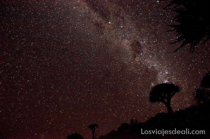 desierto del mundo: Namib bajo las estrellas