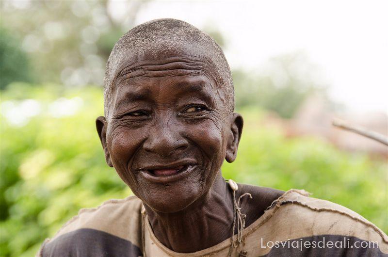 anciana somba tribus de benin