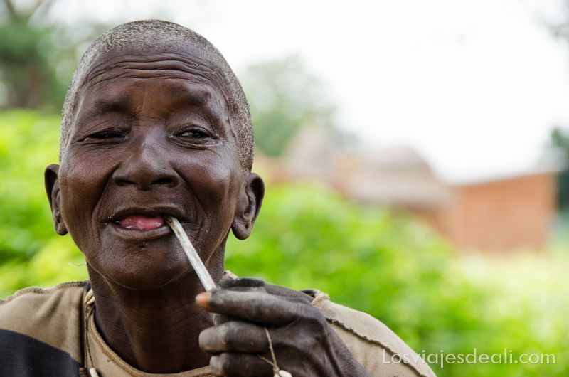 Gentes de África anciana de Benin