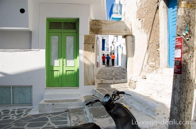 recuerdos al volver de un viaje a Naxos