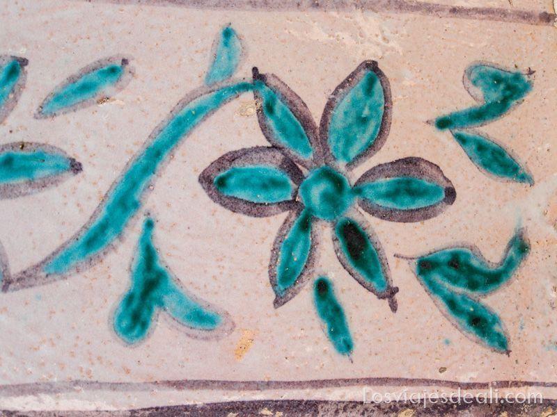 azulejo del mausoleo Abakh Khoja